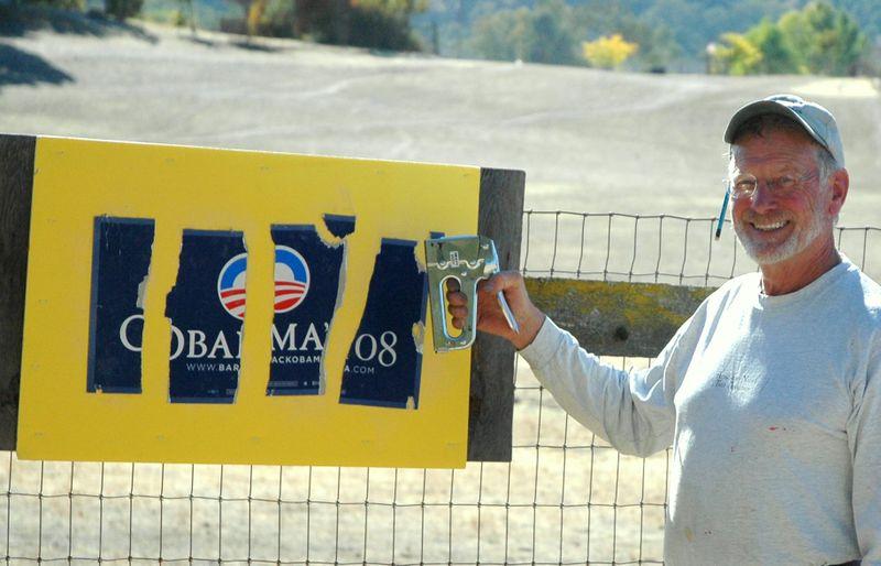 Obama Sign Art xxx