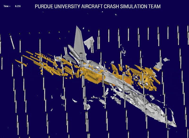 Aircraft disintegration