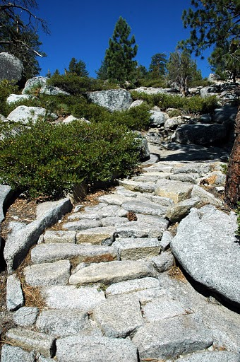 Stairway to Yosemite Creek