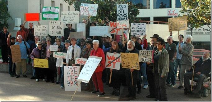 Occupy SLO kickoff